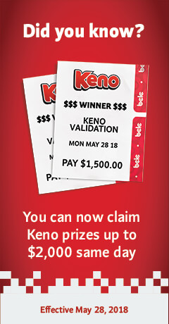 Keno winning numbers for BC - Lotto! | BCLC