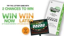 Poker lottery ticket