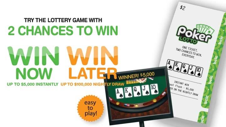 Poker lotto winning numbers bc
